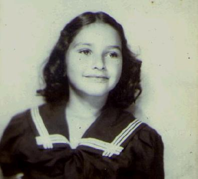 David's little sister in 1941
